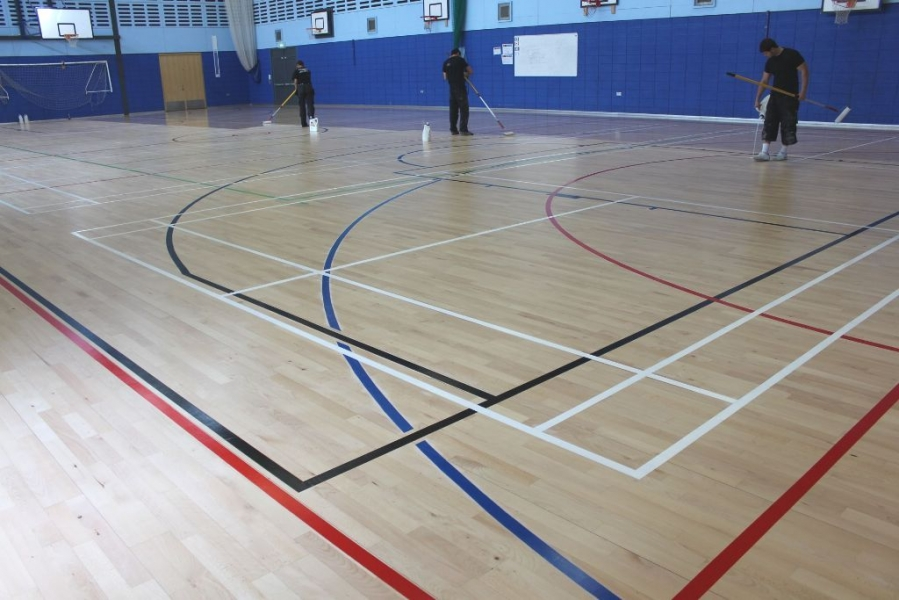 Cotham Sport Floor Hall coating