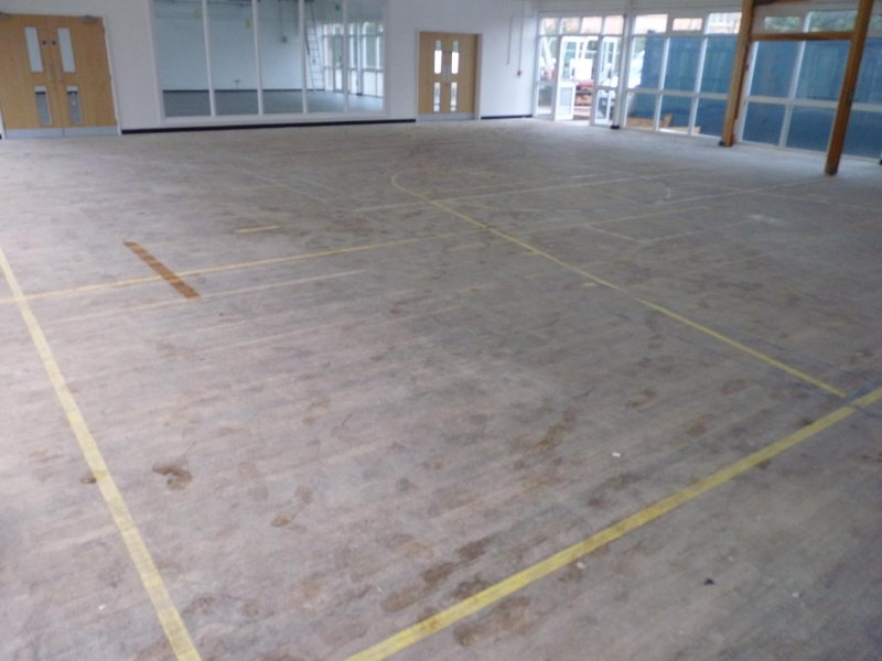 Exeter gym renovation