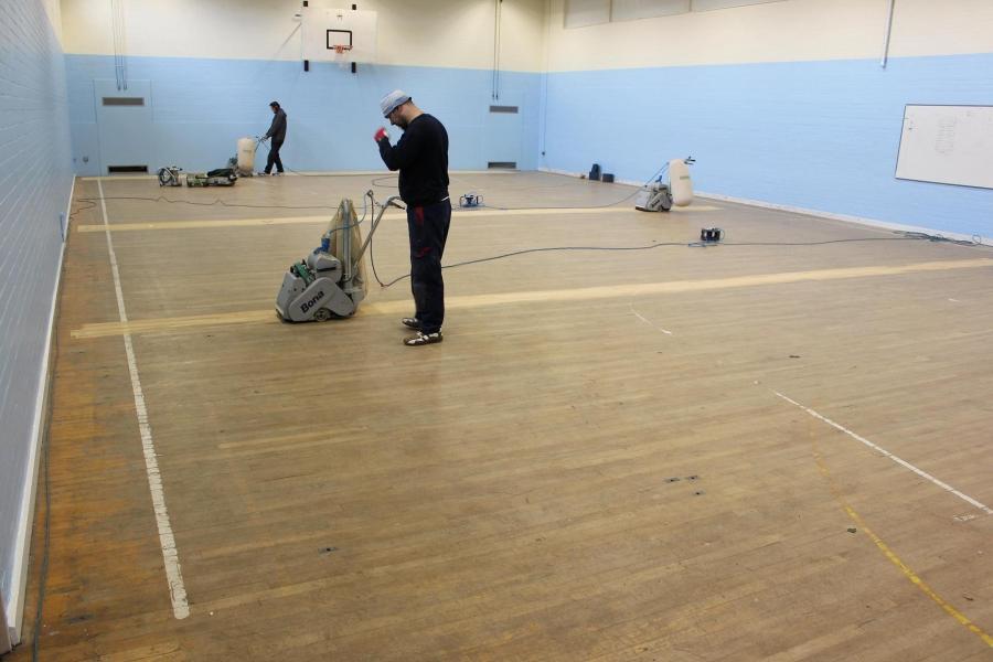 Sport Floor Sanding Bristol Sports Flooring Company Gym