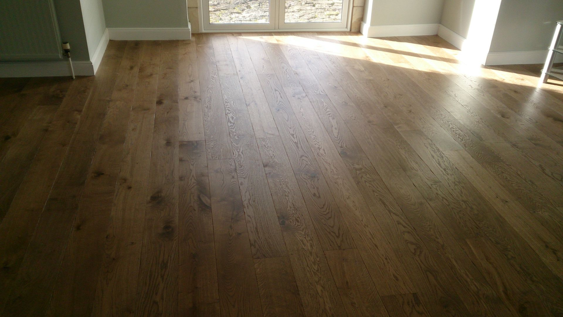 Supply and fit engineered oak flooring