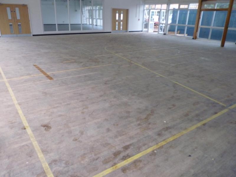 School Floor Sanding Bristol Fitting Sports Floors